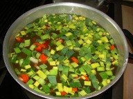 Good old-fashioned veggie soup