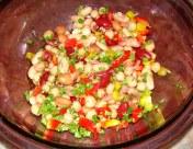 Six-Bean Salad Mexican Dressing