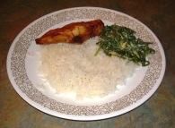 Tandoori with Spinach